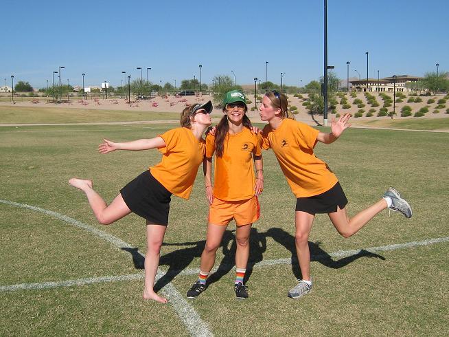 The ladies of team Filthy McNasty