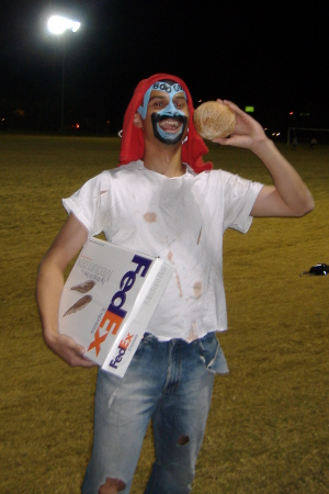 ultimate player in costume