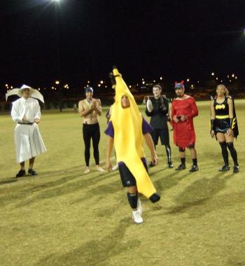 ultimate player as a banana