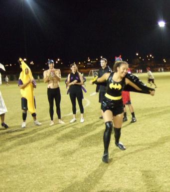 ultimate player as Batgirl