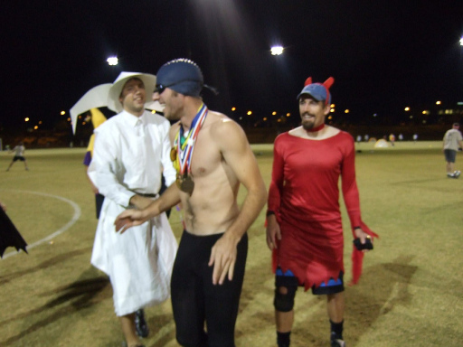 ultimate players in costume